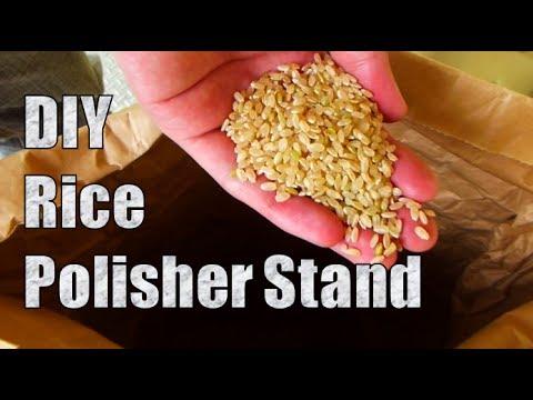 DIY Rice milling machine【精米機】日英字幕