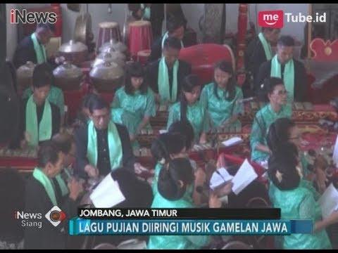 Nuansa Jawa Nan Syahdu Warnai Misa Natal Di Gereja Jawi Wetan - INews Siang 25/12
