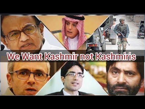 #Breaking #Headlines #Shaharbeen We want Kashmir not Kashmiris ; P Chidambaram