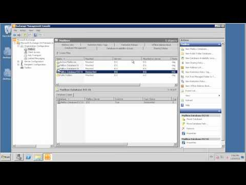 How To Backup And Restore An Exchange 2010 Mailbox Database
