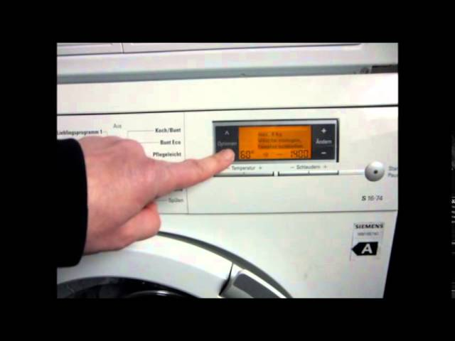 Bosch maxx 7 varioperfect schlüssel blinkt