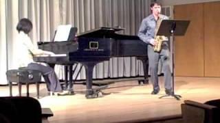 Movement 1: Handel Sonata, Op. 1, No. 13, arranged for Alto Saxophone and Piano