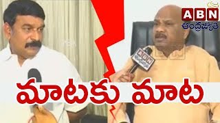 War Of Words   BJP Vishnu Kumar Raju Vs TDP Ayyanna Patrudu   ABN Telugu