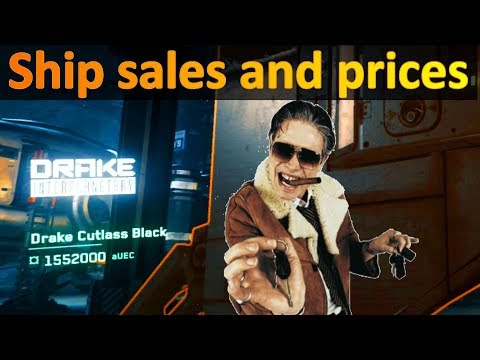 3.3.0 V PTU Ship Sale and prices in-game
