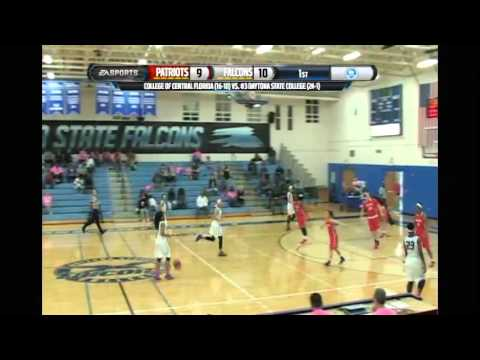 College of Central Florida vs. Daytona State College Women's Basketball