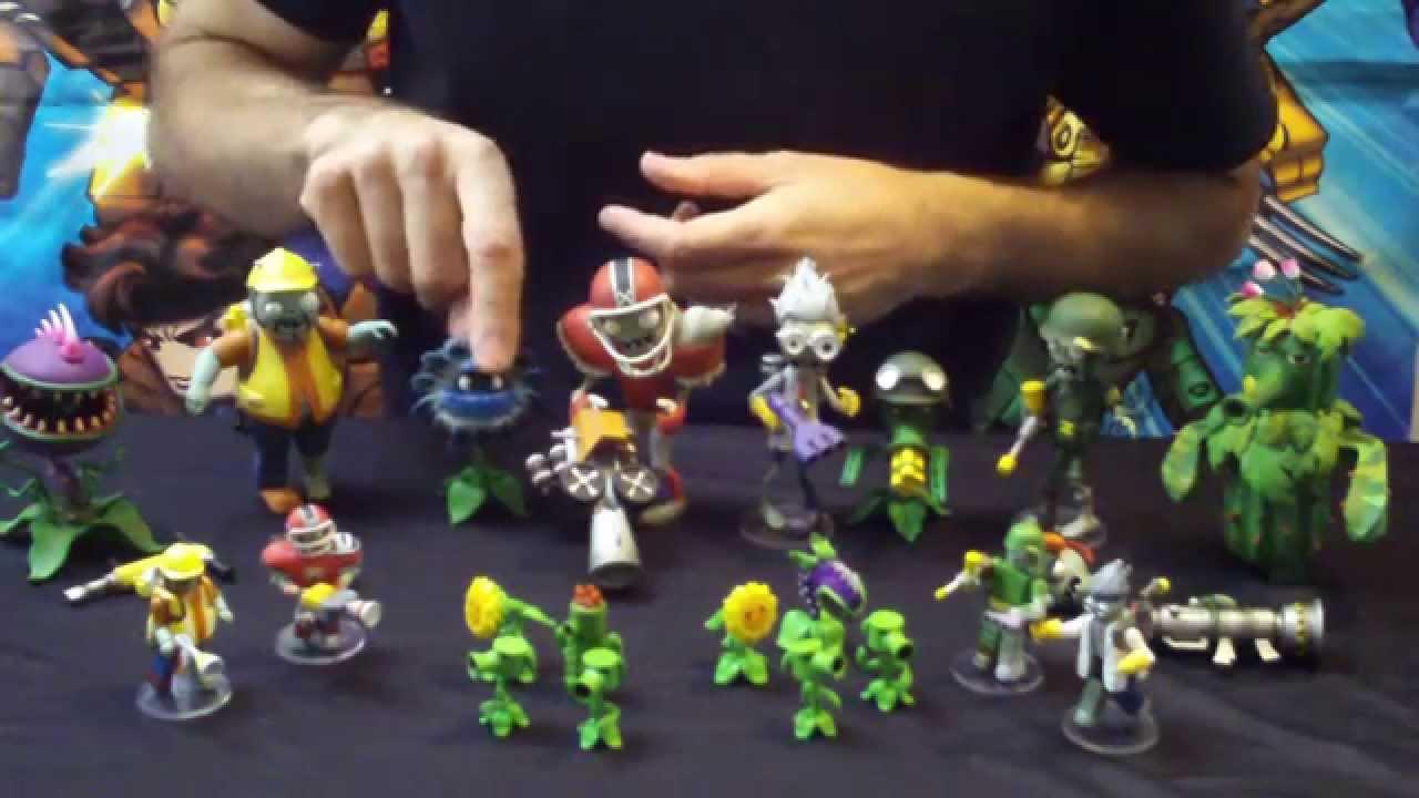 Diamond Select Toys Update Plants Vs Zombies Garden Warfare Youtube
