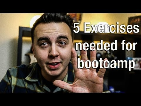 5 exercises that will PREPARE you for bootcamp!