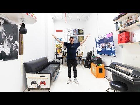 I Took Over Casey Neistat's NYC Studio: FULL TOUR!