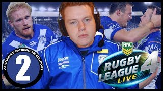 RUGBY LEAGUE LIVE 4 | BULLDOGS CAREER MODE | EPISODE 2 - NINES GROUP STAGES