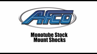 Download Video Stock Mount Shocks: AFCO's NEW Stock Mount Monotube Shock MP3 3GP MP4