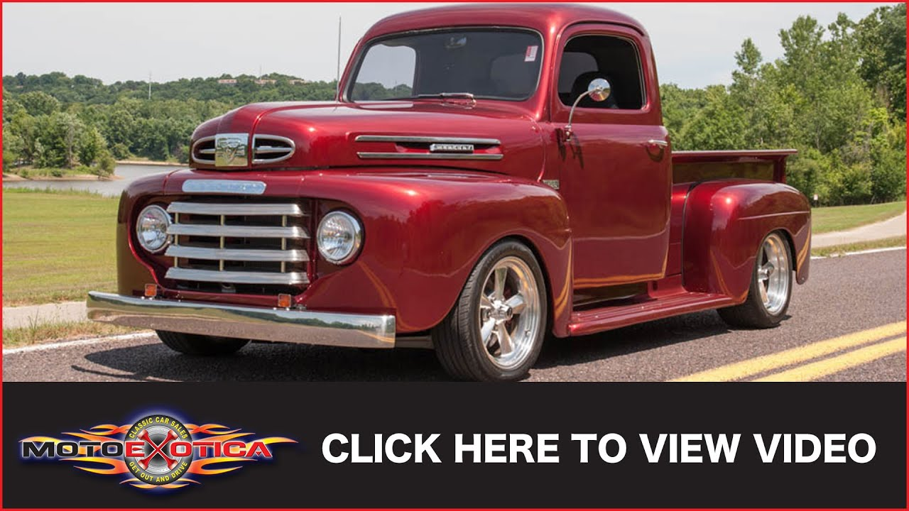 1949 Mercury M47 Pickup Custom Sold