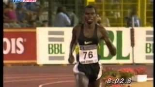 Daniel Komen-5000m 12:39.75 Brussel 1997 (Old WR)