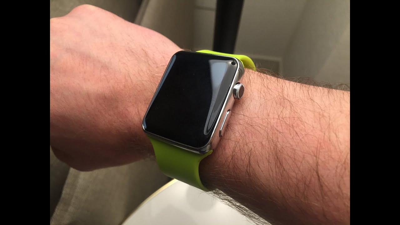 ces 2015 fake apple watch f252r 40 usdollar gekauft youtube