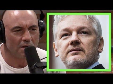 Joe Rogan - What Did Julian Assange Do?