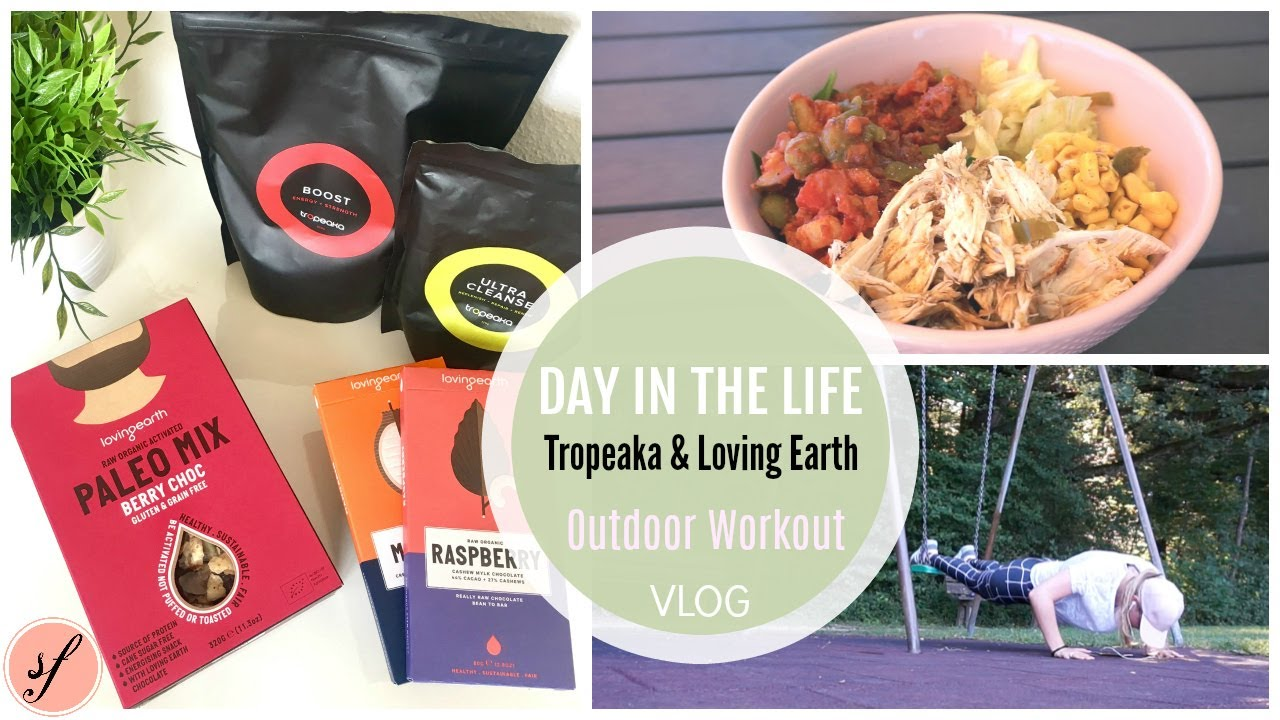 Day In The Life | Outdoor Workout | Tropeaka U0026 Loving Earth Bestellung |  Solvejgs Fitformel