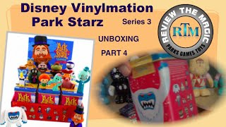 Part 4 Unboxing Disney Vinylmation Park Starz 3  OPENING and REVIEW   Kinda like this guy!