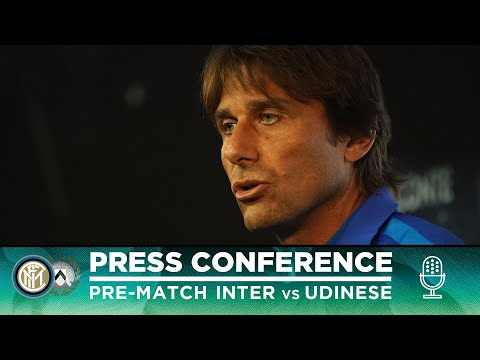 INTER vs UDINESE | Antonio Conte Pre-Match Press Conference LIVE 🎙⚫🔵 [SUB ENG]