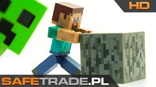 Minecraft Steve Collectible Action Figure with Accessories Figurka   www.safetrade.pl