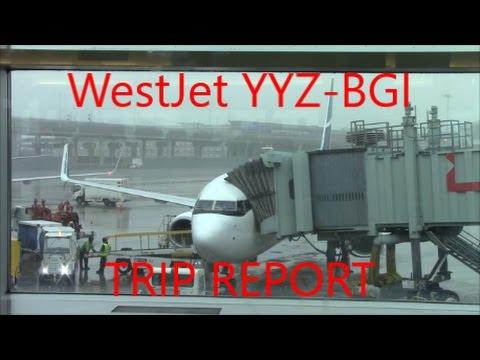 TRIP REPORT: WestJet Boeing 737-800 | Toronto to Barbados | Economy