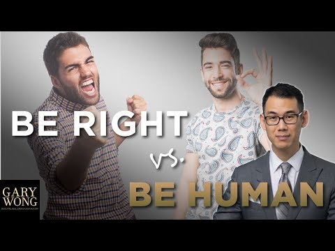 Being Right Vs Being Relational