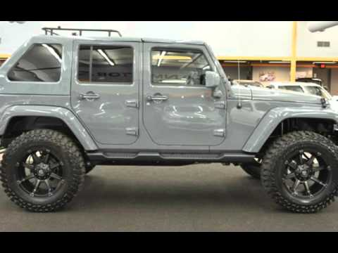 2015 Jeep Wrangler Unlimited Sahara Lifted Fastback Top