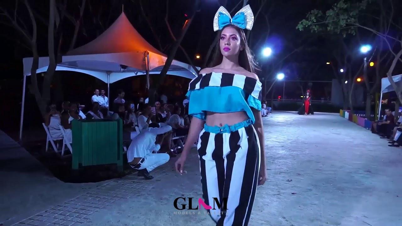 Circus Fashion Show by Glam Models   Primera Pasarela  