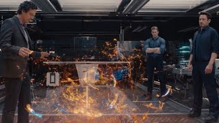 Jarvis dies scene - the avengers age of ultron