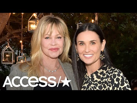 Demi Moore And Melanie Griffith Had The Cutest 'Now And Then' Reunion Nearly 24 Years Later