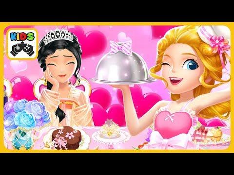 Готовим в ресторане принцессы Либби в игре для девочек Princess Libby Restaurant Dash от Libii