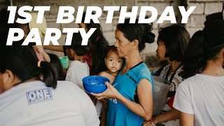 FIRST BIRTHDAY PARTY | HOPE ALIVE CLINIC