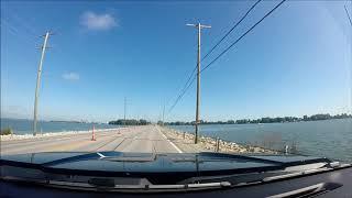 Driving Across The Thomas Edison Bridge, OH SR 2/269, Port Clinton, Ohio