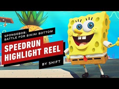 SpongeBob: Battle for Bikini Bottom Any% Speedrun Highlights (by SHiFT)