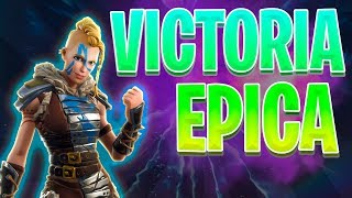 FORTNITE | VICTORIA EPICA CON SQUAD FRAGANTI | NUEVA TEMPORADA 5 | HUNTRESS SKIN | GAMEPLAY ESPAÑOL