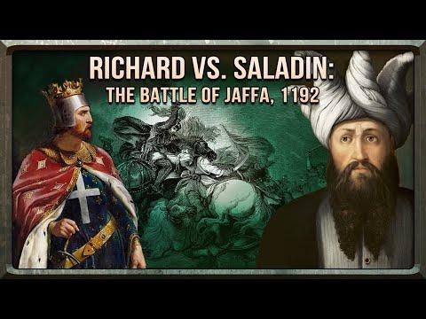Battle Of Jaffa Richard And Saladin S Final Battle