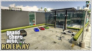 GTA 5 ROLEPLAY - Visiting 'HUGE' New Custom Built Car Garage Shop | Ep. 194 Civ