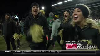 Purdue DESTROYS Ohio State in one of the most Hype games of the year! College Football |Mo Bamba|