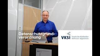 VKSI Sneak Preview: Datenschutzgrundverordnung, Rechtsanwalt und Fachanwalt für IT-Recht Timo Schutt