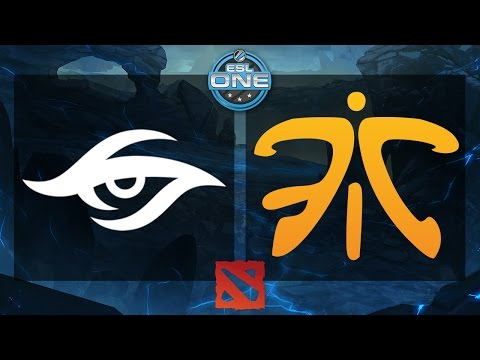 Dota 2 - Team Secret vs. Fnatic - ESL One Frankfurt 2015 - Quarterfinal - Game 1