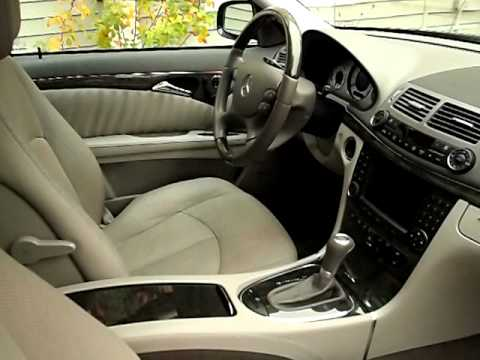 2007 Mercedes E550 4Matic Blue-Gray, Www.AlphaCars.com