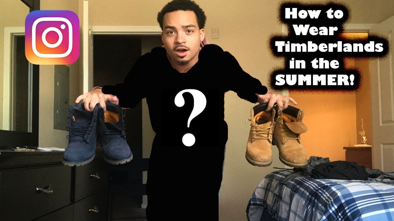 8abcaf38770 How To Wear Timberlands Boots IN THE SUMMER! - YouTube