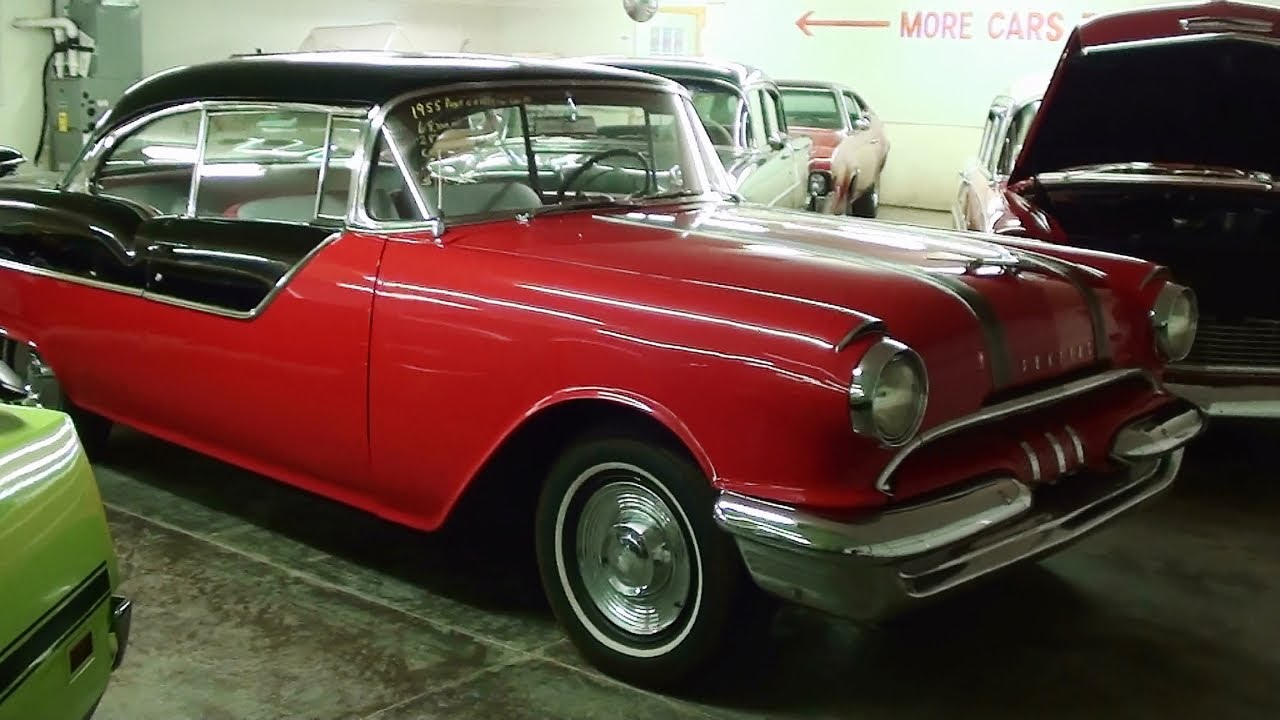1955 pontiac chieftain 2 dr hardtop 287 v8 at country