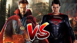 Superman VS Dr Strange   Who Wins?
