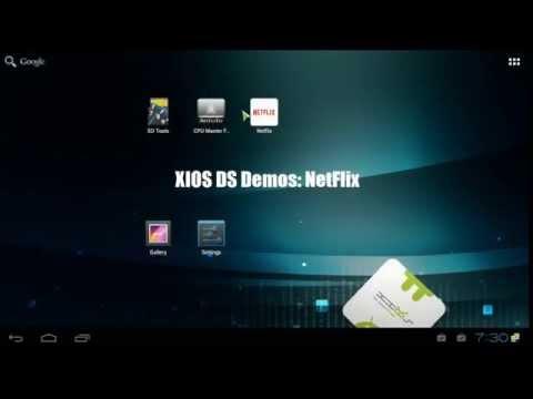 XIOS DS Demos: Netflix (ICS-M1)