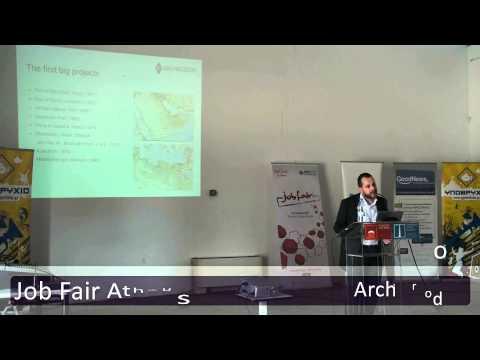 Job Fair Athens 2013 - Ομιλία Archirodon
