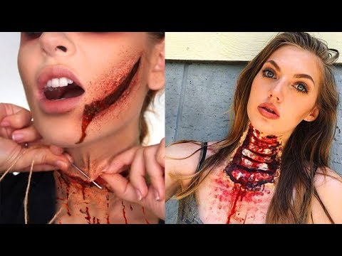 Creepiest Halloween Makeup Tutorials 2018 | SFX Makeup Compilation