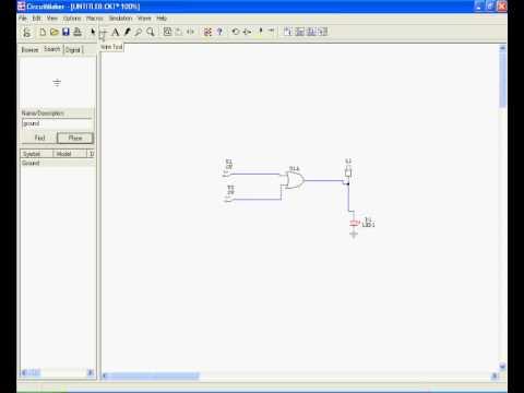 usando o circuit maker youtube