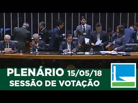PLENÁRIO - Sessão Deliberativa - 15/05/2018 - 20:12