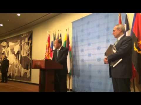 Ban Ki-moon on Yemen and Syria