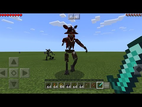 REAL FIVE NIGHTS AT FREDDYS 3 MOD In Minecraft PE