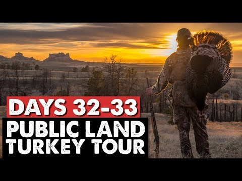 NEBRASKA PUBLIC LAND DOUBLE! - Public Land Turkey Tour Days 32-33